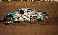 Nov. 6, 2011; Las Vegas, NV USA; LOORRS pro 2 unlimited driver Robby Woods during round 14 at the Las Vegas Motor Speedway. Mandatory Credit: Mark J. Rebilas-