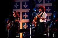 Montreal (Qc) CANADA -  June 24, 1994 - Quebec national Holiday (Saint-Jean-Baptiste) - Robert Charlebois