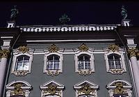 San Pietroburgo , facciata del Museo dell'Hermitage, finestre