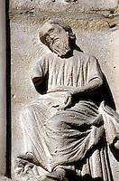FRANCIA -  Parigi Cattedrale di Notre Dame (1160-1300) restaurata in gran parte nel XIX sec, quel che si vede ora è per lo più opera del restauro di Viollet-le-Duc