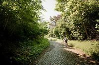 Moskesstraat along the Brabantse Pijl Route in Overijse<br /> <br /> Cycling in Flanders (BEL)<br /> cycling hotspots in Brabant<br /> <br /> ©kramon