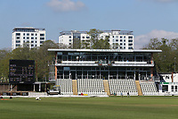 General view of the Graeme Hick Pavilion ahead of Worcestershire CCC vs Essex CCC, LV Insurance County Championship Group 1 Cricket at New Road on 2nd May 2021