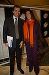 """UGO BRACHETTI PERETTI CON ALESSANDRA BORGHESE <br /> VERNISSAGE """"ROMA 2006 10 ARTISTI DELLA GALLERIA FOTOGRAFIA ITALIANA"""" AUDITORIUM DELLA CONCILIAZIONE ROMA 2006"""