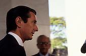 Brasilia, Brazil; ex-president Fernando Collor de Mello before his impeachment.