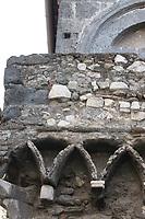 In the old part of the little town a close view by macro to a house that dates back to the Middle Age (Tivoli, 2020).<br /> <br /> Nella parte vecchia della cittadina, una vista da vicino con il macro ad una casa che risale al Medio Evo (Tivoli, 2020).
