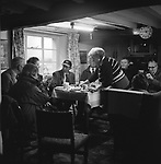 The Blencathra Foxhounds. Coffee, cake and biscuits are provided by Mrs Dorothy Roper in her kitchen. Hall Garth Farm, Near Braithwaite, Cumbria.