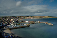 Stonehaven and Stonehaven Harbour and the Aberdeenshire Coast, Aberdeenshire, Scotland<br /> <br /> Copyright www.scottishhorizons.co.uk/Keith Fergus 2011 All Rights Reserved