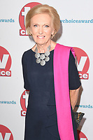 Mary Berry<br /> arriving for the TV Choice Awards 2017 at The Dorchester Hotel, London. <br /> <br /> <br /> ©Ash Knotek  D3303  04/09/2017