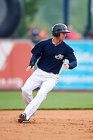 West Michigan Whitecaps third baseman Zach Shepherd (18) running the bases during a game against the Cedar Rapids Kernels on June 7, 2015 at Fifth Third Ballpark in Comstock Park, Michigan.  West Michigan defeated Cedar Rapids 6-2.  (Mike Janes/Four Seam Images)