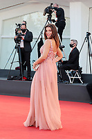 VENICE, ITALY - SEPTEMBER 12: A guest walks the red carpet ahead of closing ceremony at the 77th Venice Film Festival on September 12, 2020 in Venice, Italy. <br /> CAP/MPI/AF<br /> ©AF/MPI/Capital Pictures