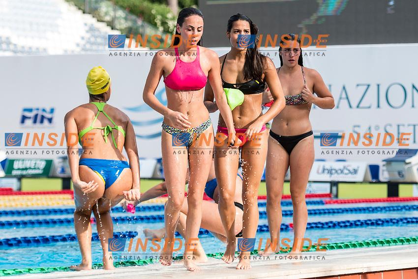 Entertainment. Intrattenimento sincronettes <br /> Roma 25-06-2017 Stadio del Nuoto Foro Italico <br /> FIN 54mo Trofeo Sette Colli 2017 Internazionali d'Italia<br /> Photo Andrea Staccioli/Deepbluemedia/Insidefoto