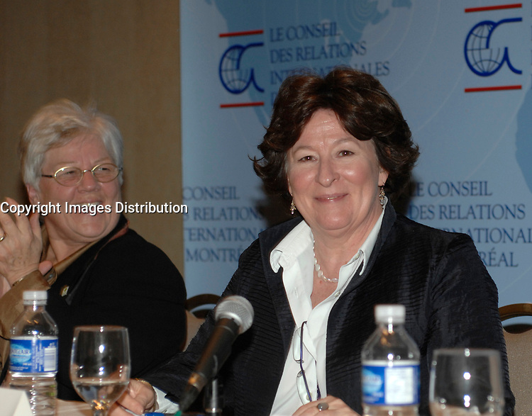 Louise Arbour in Montreal, February 9, 2007<br /> <br /> Louise Arbour was appointed High Commissioner for Human Rights by the Secretary-General and approved by the General Assembly, effective 1 July 2004.<br /> <br /> Ms. Arbour, a Canadian national, began a distinguished academic career in 1970, culminating in the positions of Associate Professor and Associate Dean at the Osgood Hall Law School of York University in Toronto, Canada, in 1987. In December of 1987, she was appointed to the Supreme Court of Ontario (High Court of Justice) and in 1990 she was appointed to the Court of Appeal for Ontario. In 1995, Ms. Arbour was appointed by Order-in-Council as single Commissioner to conduct an inquiry into certain events at the Prisons for Women in Kingston, Ontario.<br /> <br /> In 1996, she was appointed by the Security Council of the United Nations as Chief Prosecutor for the International Criminal Tribunals for the former Yugoslavia and for Rwanda. After three years as Prosecutor, she resigned to take up an appointment to the Supreme Court of Canada.<br /> <br /> Ms. Arbour graduated from College Regina Assumpta, Montreal in 1967 and completed an LL.L (with distinction) from the Faculty of Law, University of Montreal in 1970. Following the Quebec Bar Admission Course, she was called to the Quebec Bar in 1971 and the Ontario Bar in 1977. Ms. Arbour has received honorary doctorates from twenty-seven Universities and numerous medals and awards. She is a member of many distinguished professional societies and organizations and has served on the boards of many others. She has published extensively on criminal law and given innumerable addresses on both national and international criminal law.<br /> <br /> Ms. Arbour was born on 10 February 1947 in Montreal, Quebec and has three children. She is fluent in French and English.<br /> Photo : (c) 2007 by Michel Karpoff - Images Distribution