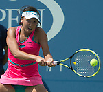 Shuai Peng (CHN) defeats Belinda Bencic (SUI) 6-2, 6-1 at the US Open being played at USTA Billie Jean King National Tennis Center in Flushing, NY on September 2, 2014