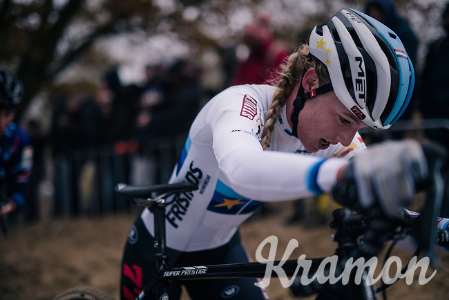 European CX Champion Annemarie Worst (NED/Steylaert-777)<br /> <br /> women's race<br /> CX World Cup Koksijde 2018