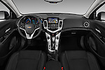 Stock photo of straight dashboard view of 2016 Chevrolet Cruze-Limited 2LT-Auto 4 Door Sedan Dashboard