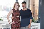 Actors Carolina Bang and Hugo Silva pose during `Mi gran noche´ film presentation in Madrid, Spain. February 20, 2015. (ALTERPHOTOS/Victor Blanco)
