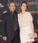 Nia Vardalos attends the Relativity World Premiere of Immortals held at The Nokia Theater Live in Los Angeles, California on November 07,2011                                                                               © 2011 DVS / Hollywood Press Agency