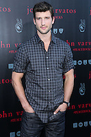 WEST HOLLYWOOD, CA, USA - SEPTEMBER 21: Parker Young arrives at the John Varvatos #PeaceRocks Ringo Starr Private Concert held at the John Varvatos Boutique on September 21, 2014 in West Hollywood, California, United States. (Photo by Xavier Collin/Celebrity Monitor)