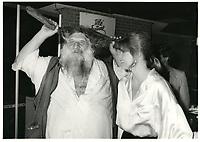 Le Grand-Antonio ,Marielle Hemmingway <br /> au Festival des Films du Monde 1985<br /> <br /> <br /> PHOTO : Agence Quebec Presse