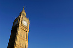 Big Ben, London, England, United Kingdom, Great Britain.