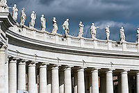 Bernini's colonnade, Vatican City, Rome, Italy