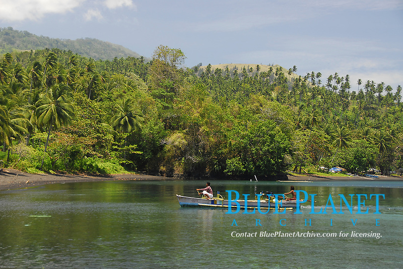 Fishermen, Lembeh Strait, North Sulawesi, Indonesia,