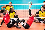 Austin Hinchey and Bryce Foster, Lima 2019 - Sitting Volleyball // Volleyball assis.<br />