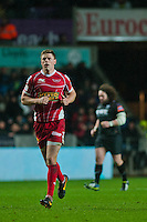 Friday 03 January 2014<br /> Pictured:Rhys Preistland<br /> Re: Ospreys v Scarlets, Rabo Direct Pro 12 match at the Liberty Stadium Swansea, Wales