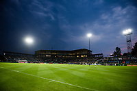 TACOMA, WA - JULY 31: Cheney Stadium at dusk during a game between Racing Louisville FC and OL Reign at Cheney Stadium on July 31, 2021 in Tacoma, Washington.