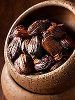 Black cardamom stock photos