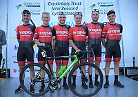 Drapac Cannondale Holistic development team (Australia). 2019 Grassroots Trust NZ Cycle Classic UCI 2.2 Tour at St Peter's School in Cambridge, New Zealand on Tuesday, 22 January 2019. Photo: Dave Lintott / lintottphoto.co.nz
