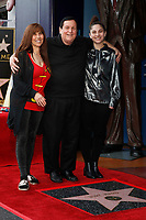 LOS ANGELES - JAN 9:  Tracy Posner Ward, Burt Ward, Melody Lane Ward at the Burt Ward Star Ceremony on the Hollywood Walk of Fame on JANUARY 9, 2020 in Los Angeles, CA