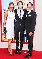 HOLLYWOOD, LOS ANGELES, CA, USA - MAY 21: Brenda Strong, Zak Henri, Tom Henri at the Los Angeles Premiere Of Warner Bros. Pictures' 'Blended' held at the TCL Chinese Theatre on May 21, 2014 in Hollywood, Los Angeles, California, United States. (Photo by Xavier Collin/Celebrity Monitor)