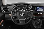 Car pictures of steering wheel view of a 2018 Toyota Proace-Verso MPV 5 Door Minivan Steering Wheel
