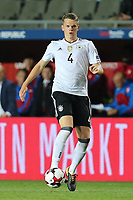 Matthias Ginter #4 (Germany), Tschechische Republik vs. Germany, Football, WM-Qualifikation, 01.09.2017 *** Local Caption *** © pixathlon<br /> Contact: +49-40-22 63 02 60 , info@pixathlon.de