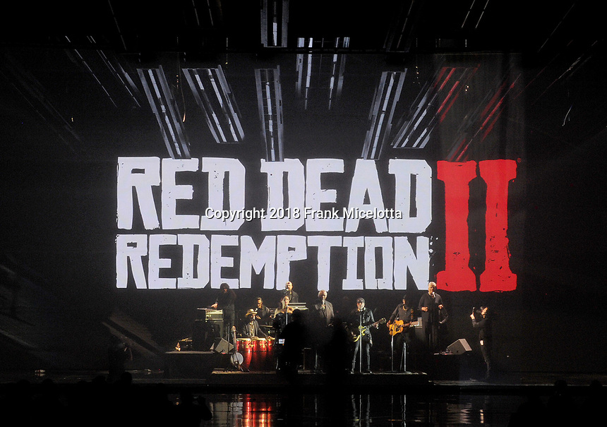 LOS ANGELES - DECEMBER 6: RDR2 performs on the 2018 Game Awards at the Microsoft Theater on December 6, 2018 in Los Angeles, California. (Photo by Frank Micelotta/PictureGroup)