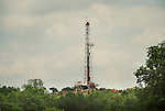 Natural Gas Drilling rig. Chief Oil and Gas, Lycoming County, Pennsylvania..........................................