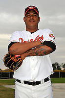 Feb 27, 2010; Tampa, FL, USA; Baltimore Orioles  pitcher Frank Mata (74) during  photoday at Ed Smith Stadium. Mandatory Credit: Tomasso De Rosa/ Four Seam Images