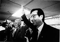 Montreal (Qc) Canada  file Photo - 1986 jan 20, Robert Bourassa