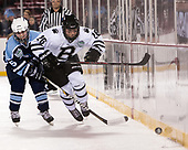 Ashley Anctil (CC - 5), Jill Rathke (Bowdoin - 26) - The Babson College Polar Bears defeated the Connecticut College Camels 3-0 on Thursday, January 12, 2017, at Fenway Park in Boston, Massachusetts.