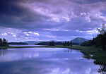 Europe, SWE, Sweden, Darlana, Mora, Siljan lake, Clouds, Waterreflection