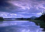 Europe, SWE, Sweden, Darlana, Mora, Siljan lake, Clouds, Waterreflection