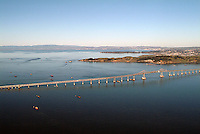 aerial photography Richmond Bridge, Contra Costa county California