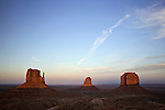 The Mittens and Merrick Butte in Monument Valley