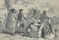 Penn's Treaty With The Indians, Felix Octavius Carr Darley, (1822-1888)