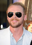 Simon Pegg <br />  at The Focus Features L.A. Premiere of The World's End held at The Cinerama Dome in Hollywood, California on August 21,2013                                                                   Copyright 2013 Hollywood Press Agency