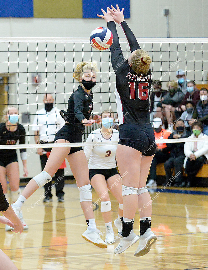 Madison Edgewood Volleyball, Wisconsin State Sectional Final Oct. 31, 2020