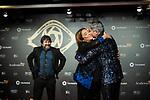 """Boris Izaguirre and Toñi Moreno attend """"Iris Academia de Television' awards at Nuevo Teatro Alcala, Madrid, Spain. <br /> November 18, 2019. <br /> (ALTERPHOTOS/David Jar)"""