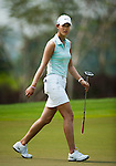 CHON BURI, THAILAND - FEBRUARY 17:  Michelle Wie of USA walks off the 17th green during day two of the LPGA Thailand at Siam Country Club on February 17, 2012 in Chon Buri, Thailand.  Photo by Victor Fraile / The Power of Sport Images