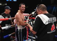 LAS VEGAS - NOVEMBER 23:  Rigoberto Hermosillo on the Fox Sports PBC Fight Night at the MGM Grand Garden Arena on November 23, 2019 in Las Vegas, Nevada. (Photo by Frank Micelotta/Fox Sports/PictureGroup)